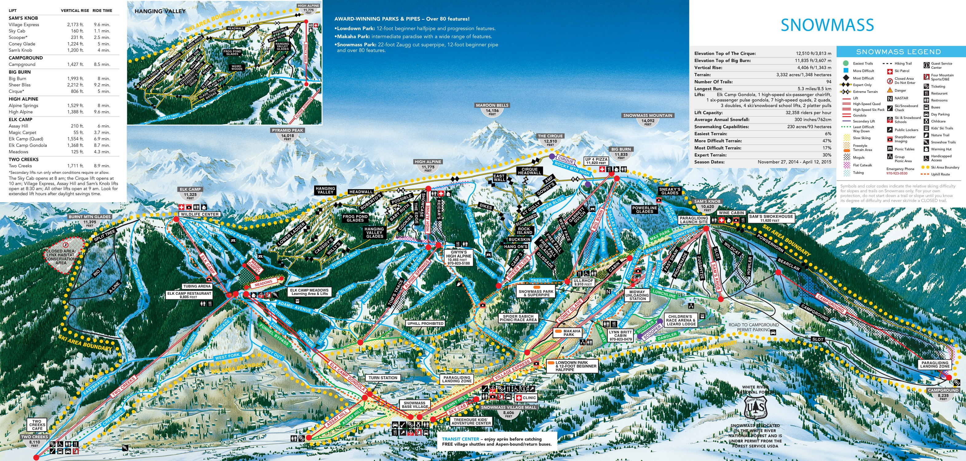 Aspen Ski Resort Aspen Ski Vacation Packages SkiSync - Western us ski resorts map