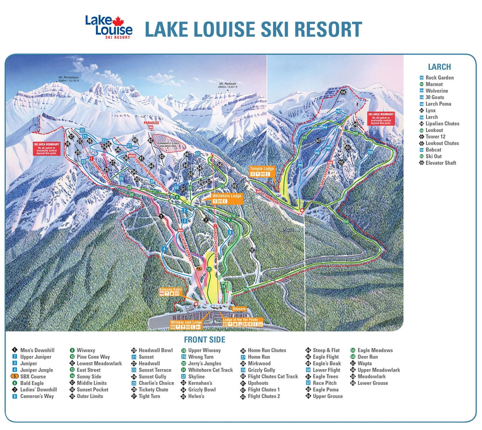 Banff Ski Packages Banff Lodging Deals SkiSync - Western us ski resorts map
