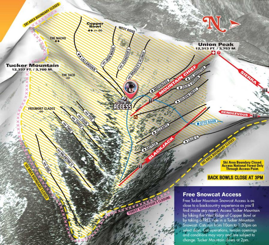CopperMountain-CopperBowl-TrailMap