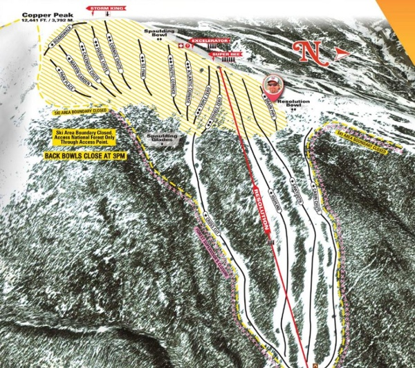 CopperMountain-SpauldingBowl-TrailMap