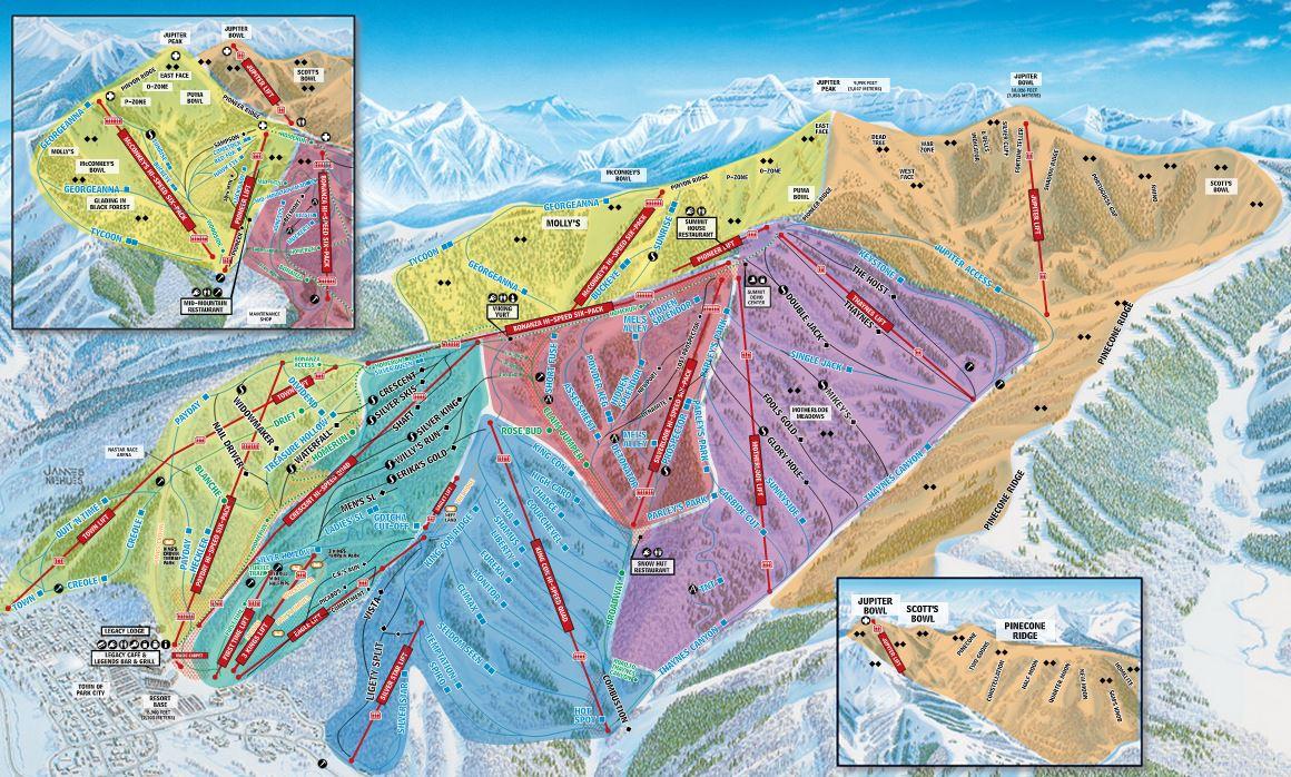 parkcitytrailmap . park city ski packages  park city lodging deals  skisync